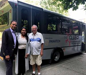 Spotlight: Panatch Group donates bus to The Club