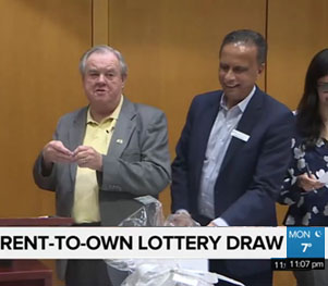 "Port Moody's ""Rent-to-own"" lottery draw"